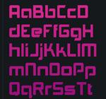 简洁新颖英文字体