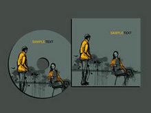 精美CD包装设计矢量图2