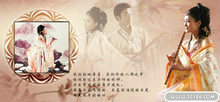 古典情怀婚纱摄影PSD模板(2)