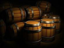 葡萄酒木桶高清图片4