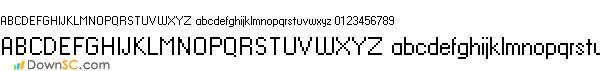 HaxrCorpS12字体
