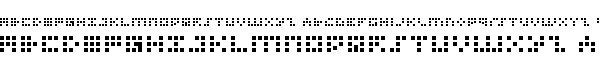 iconian_bitmap字体