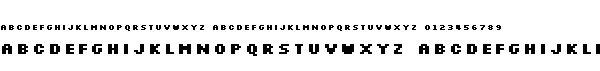 silkscreen字体