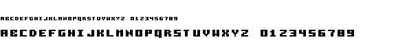 pixelzim3x5字体