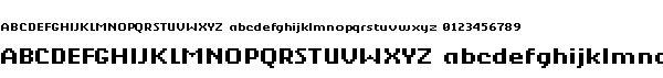 berkelium_bitmap字体