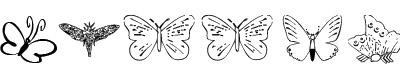 蝴蝶字体(ButterflyHeaven)