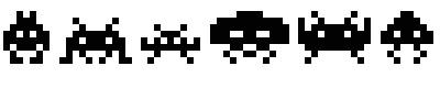 古代符号(INVADERS)