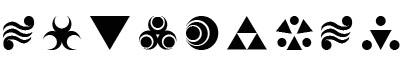 神秘符号(Hylian _Symbols)