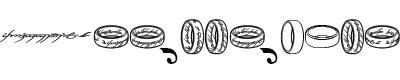 古文字(the one ring)