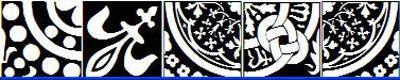 图案字体(medieval tiles)