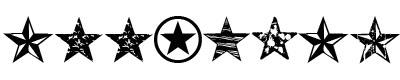 五星字体(seeing stars)