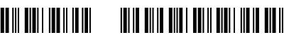 条码图案(3of9 barcode)