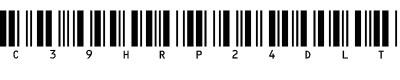 条码字体(c39hrp24dltt)