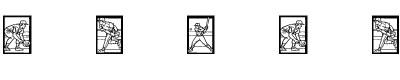 运动字体(baseball)