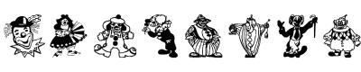 小丑字体(clowners)