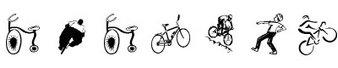 运动字体(cycling)