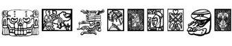 古代图案字体(AfricanDesign)