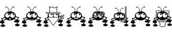 蚂蚁字体(DoNTBUGME)