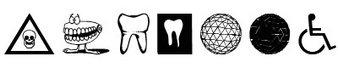 外星符号字体(Medicobats)