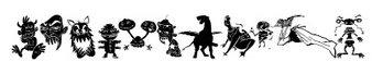 外星宠物字体(Art Monsters)