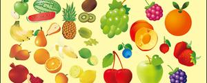 多款水果矢量图
