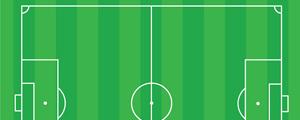 足球场平面设计矢量图下载
