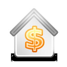 美元银行png图标 256x256png图标 Png素材 素彩图标大全