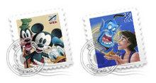 迪斯尼邮票样式PNG图标