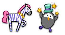 可爱的马戏团成员PNG图标