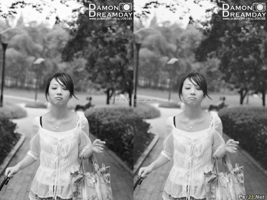 ps做出最佳的黑白照片效果