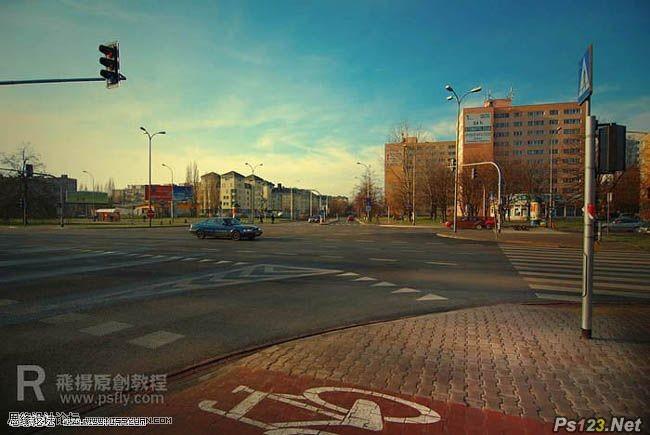photoshop打造温暖的夕阳色彩