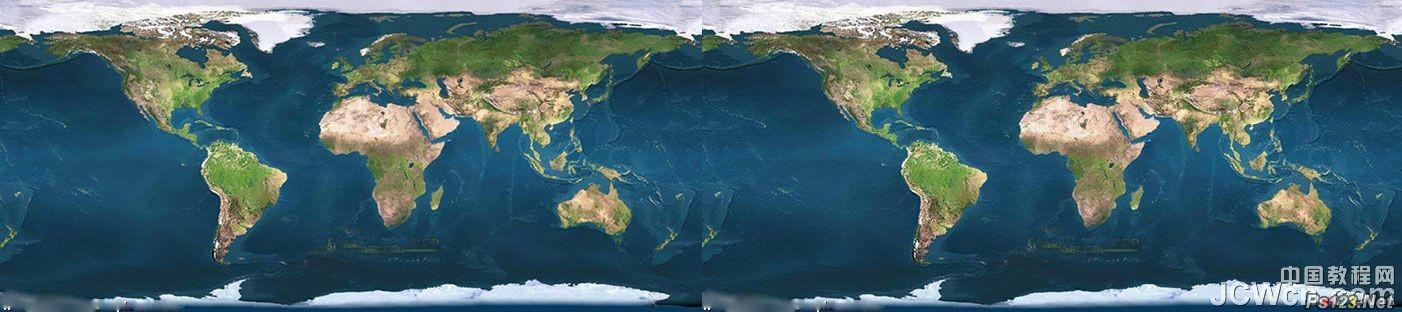 巧用ps图层蒙板工具教你制作地球自转图