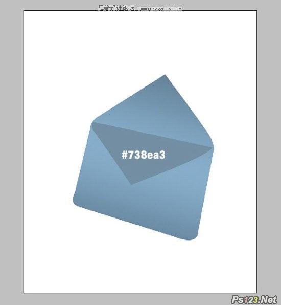 ps教你制作立体的水晶邮件图标