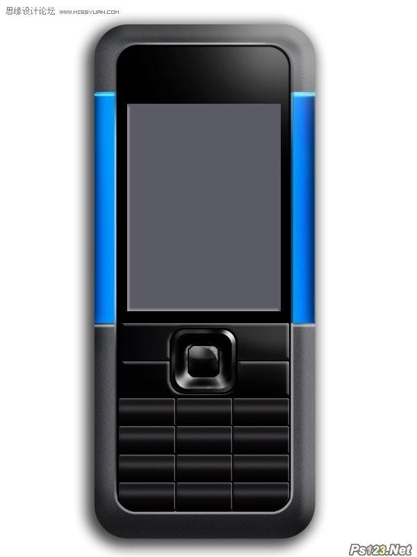 ps制作逼真的诺基亚5310手机