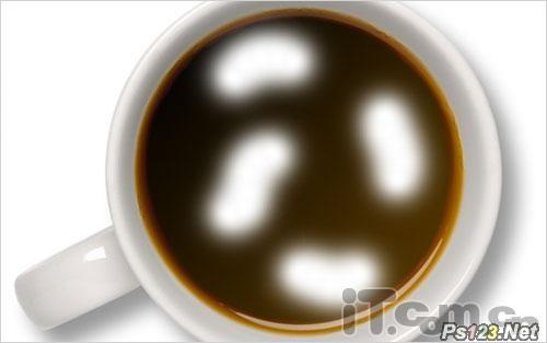 PS滤镜制作被搅动的咖啡 飞特网 PS滤镜教程