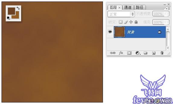 photoshop滤镜打造逼真皮革材质