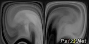 PS滤镜制作液态玻璃效果 飞特网 PS滤镜教程