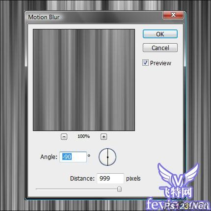 Photoshop滤镜打造彩光线条 飞特网 PS滤镜教程