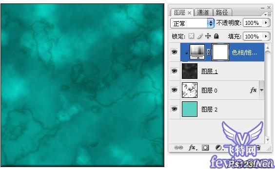 photoshop滤镜表现石材纹理质感 飞特网