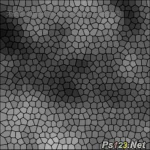 运用PS滤镜制作一张彩色玻璃网 飞特网 PS滤镜教程
