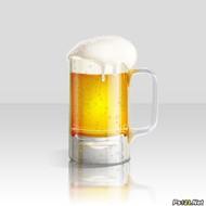 ps教你制作一杯溢出泡沫的啤酒杯