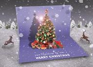 ps打造唯美梦境一般的圣诞贺卡