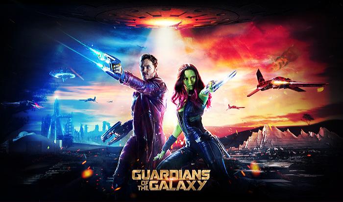 PS合成炫酷的科幻战争电影海报