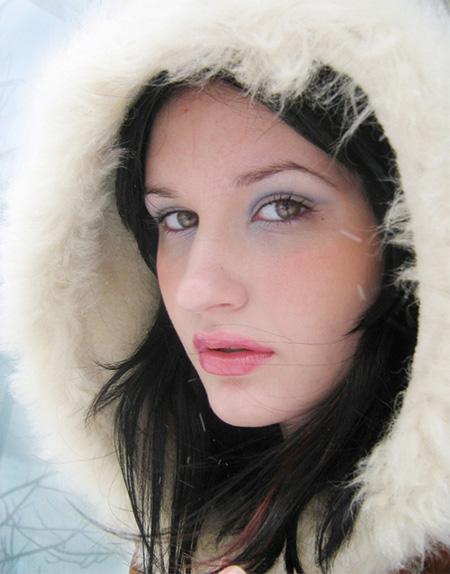 ps打造完美的冬日彩妆人像