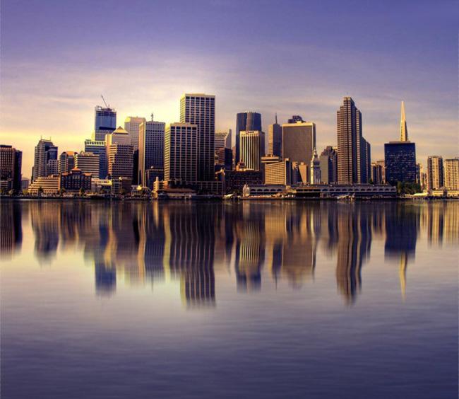 利用滤镜给风景图片增加逼真的水面倒影