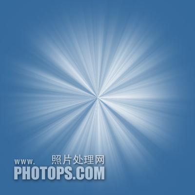 利用通道及滤镜教你制作柔和的放射光束