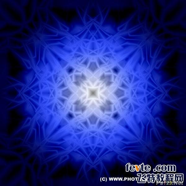 PS滤镜教你制作抽象发光图案