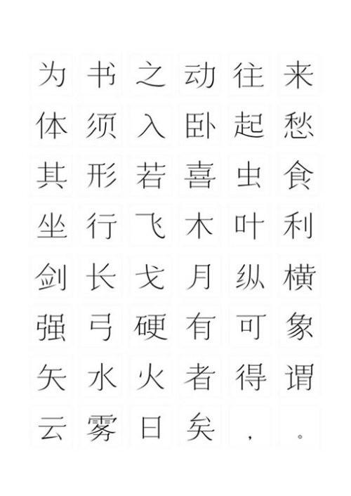 """""""方正奖""""中文字体设计三等奖作品欣赏"""