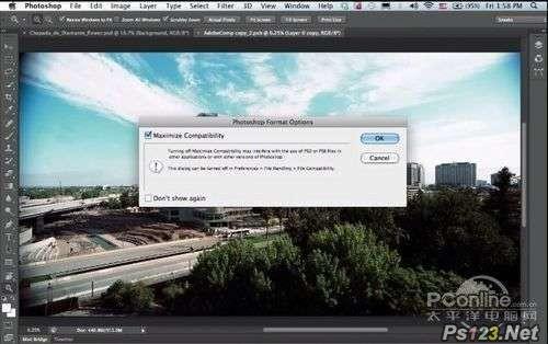 psCS6增加文件后台保存功能