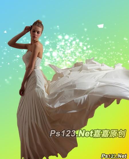 photoshop cs6 新功能简单几步快速扣出婚照图片